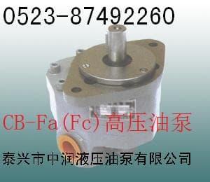 CB-FC32高压油泵